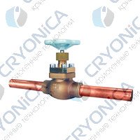 Тип 01301 Запорный клапан с трубками под припайку