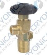 Запорный газовый вентиль GCE тип 0765732 Кислород