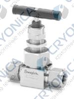 Игольчатые клапаны с соединяющей крышкой для эксплуатации в тяжелых условиях серии N и HN
