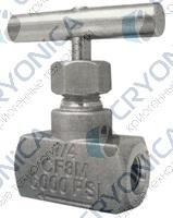 Клапан игольчатый A-FLOW серии VNK