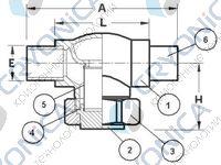 Криогенный фильтр CAEN FCB-200