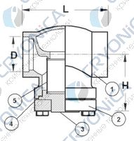 Криогенный фильтр CAEN FCSS-750