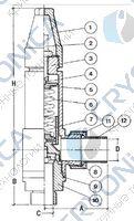 Предохранительный клапан CAEN VAS-BR