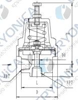 Криогенный регулятор давления типа T254DE6