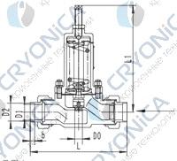 Криогенный регулятор давления типа T287DE15-50
