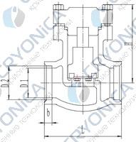 Криогенный обратный клапан T328DH50-200 PN40