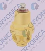 Комбинированный криогенный регулятор давления типа DYZ