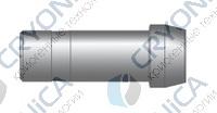 Фитинг прямой конфигурации соединение для проходного клапана серии CPC