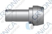 Фитинг проходной конфигурации соединение для проходного клапана серии CPR