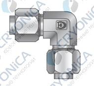 Фитинг угловой конфигурации под развальцовку серии FL