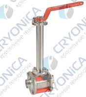 Трех корпусные криогенные шаровые краны Meca Inox серии PY4 CY DN8-50