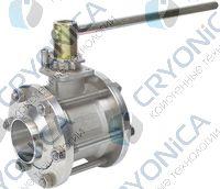 Трех корпусные криогенные шаровые краны Meca Inox серии PY4 DN65-150